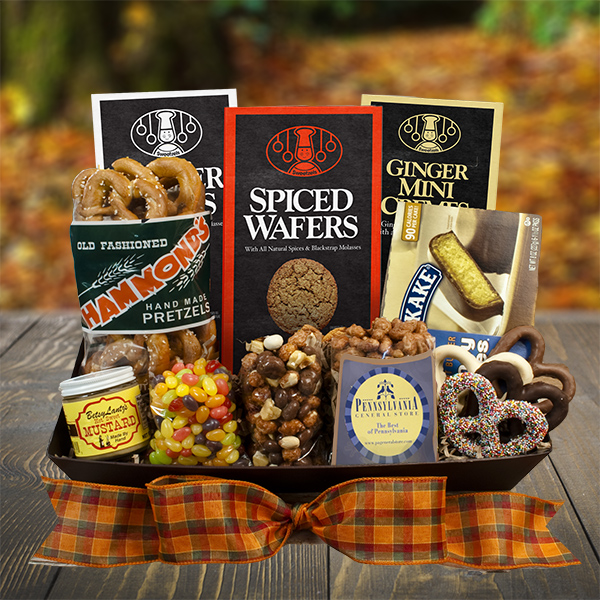 Pa General Store Autumn Snack Basket
