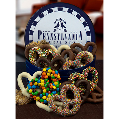 Chocolate Pretzel Tin Deluxe