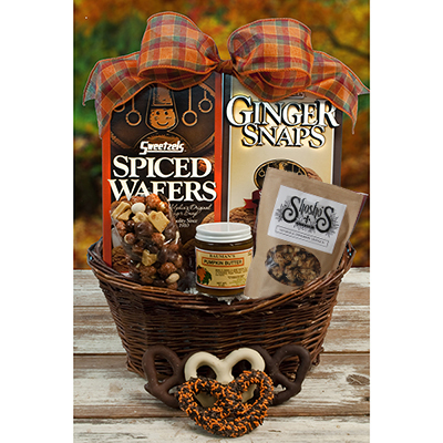 Spiced Wafer Snack Basket