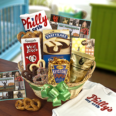 Philly's My Crib  Baby Basket
