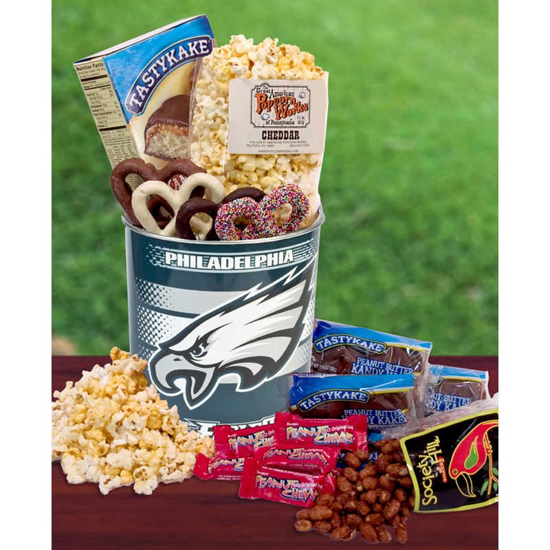 Philadelphia Eagles Fan Snack Tin, Philadelphia Gifts ...