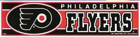 Philadelphia Flyers Bumper Sticker