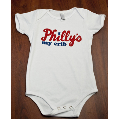 Philly's My Crib Onesie
