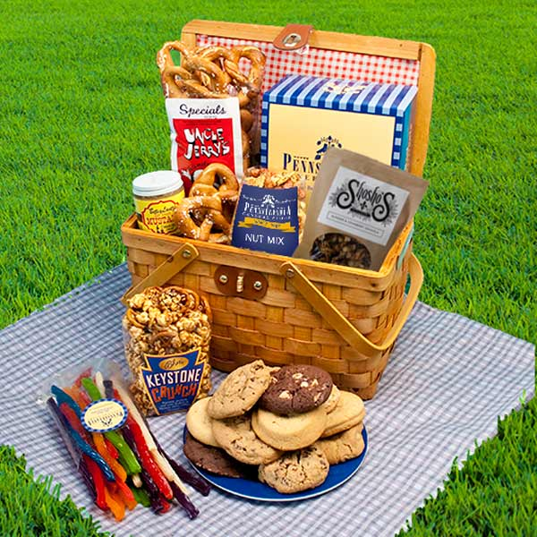 Weekend Party Basket, Summertime Gifts: Pennsylvania General Store