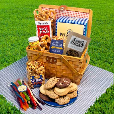 Weekend Party Basket