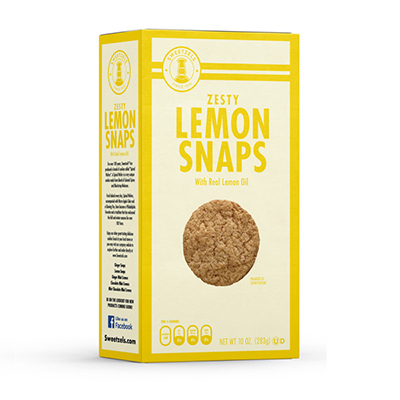 Sweetzels Lemon Snap 10 oz.