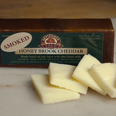 September Farm Smoked Cheddar