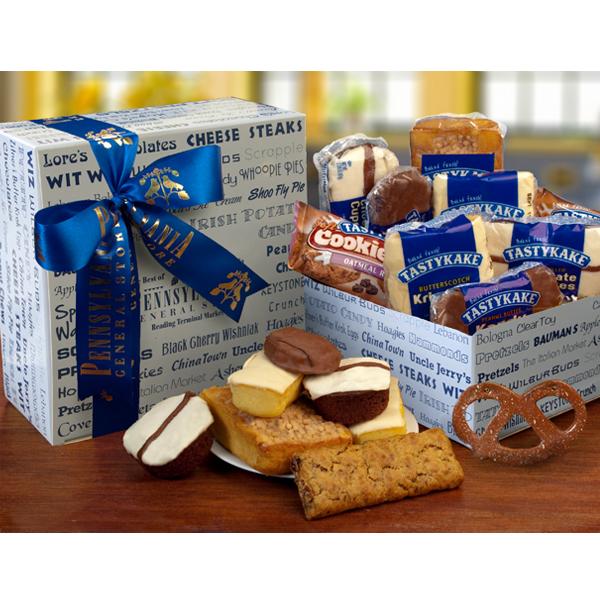 Tastykake Sampler Box With Pretzel Ornament