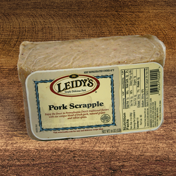 Leidy's Pork Scrapple, 5 - 1 lb. packages