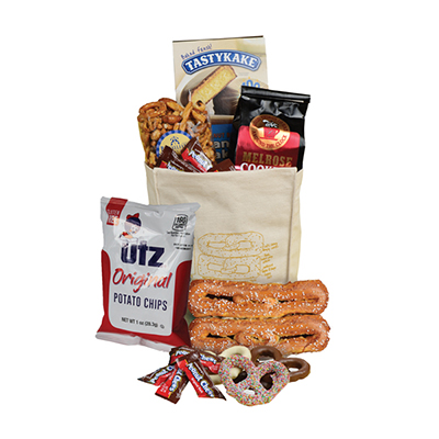 Philly Lunch Bag <BR>with Soft Pretzels
