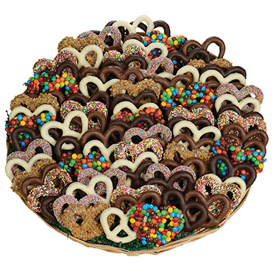 Chocolate Pretzel Tray, 5 lbs