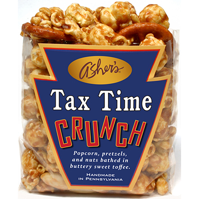 Tax Time Crunch 6-4 oz. bags