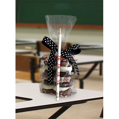 Teacher Pretzel Bag w/ LOVE pencil