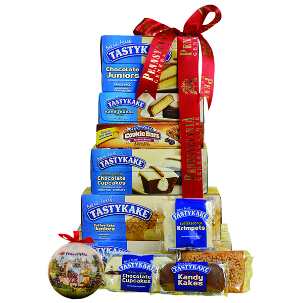 Tastykake Tower with Watercolor Ornament