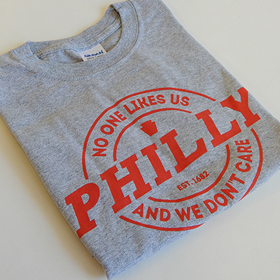 No One Likes Us T Shirt
