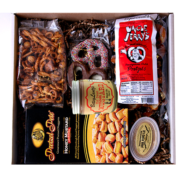 National Pretzel Day Gift Box