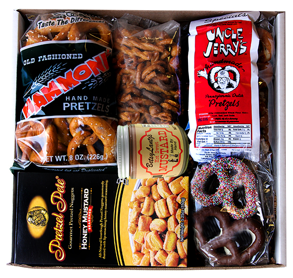 National Pretzel Day Gift Box Deluxe Philadelphia Gifts