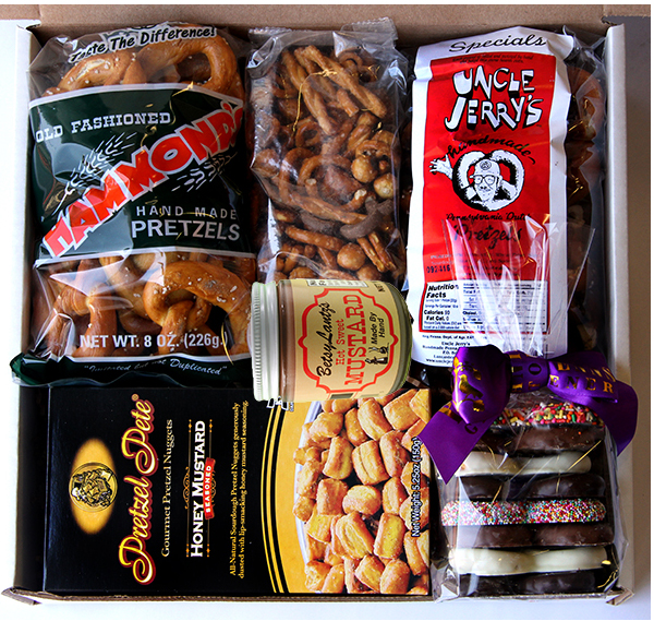 National Pretzel Day Gift Box Extravaganza