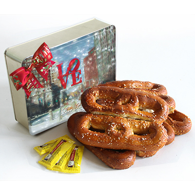 Soft Pretzel Gift Tin