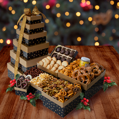 PA Deluxe Snack Tower