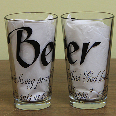 Pub Glass Duo