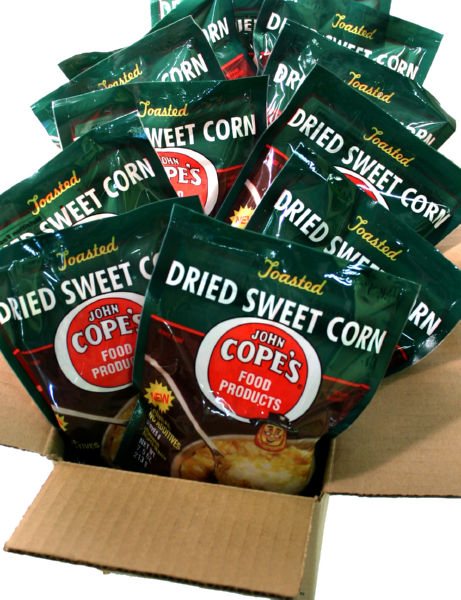 Cope's Dried Sweet Corn, 12 - 7.5 packages