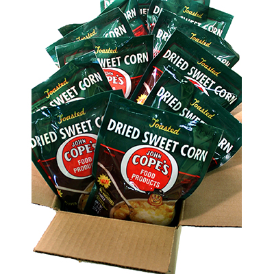 Cope's Dried Sweet Corn,<br> 12 - 3.75 packages