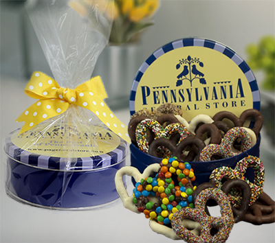 Mother's Day Chocolate Pretzel Tin Deluxe