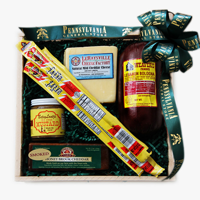 Meat and Cheese Lover's Gift Box
