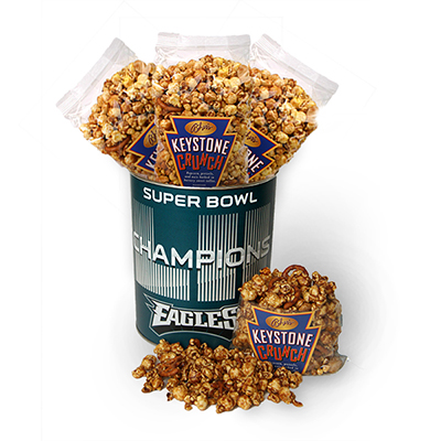 Super Bowl Champs Keystone Crunch Tin