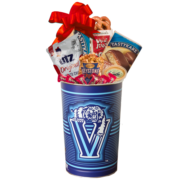 Philly Sport Lover's Villanova Gift Basket