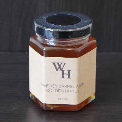 Whiskey Barrel Aged Honey