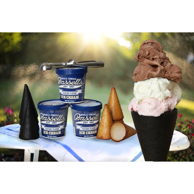 Bassett's  Neapolitan Ice Cream Kit --