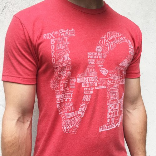 Paul Carpenter Neighborhood LOVE T-Shirt