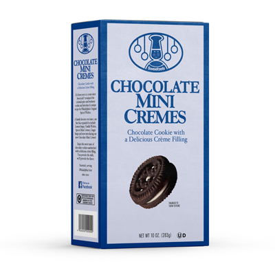 Sweetzels Chocolate Mini Cremes, 15/10 oz.