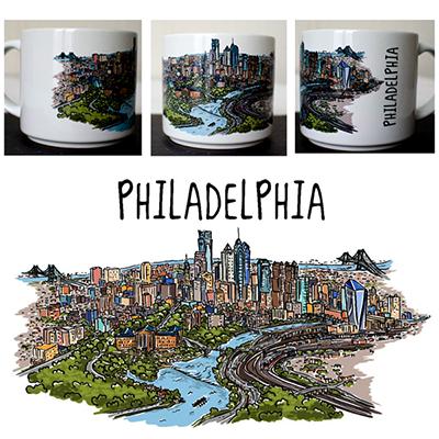 Philadelphia Metro Mug