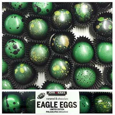 John & Kira's Limited Edition Eagle Eggs