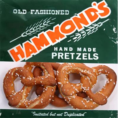 Hammond's Pretzels, 12/8 oz. bags