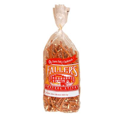 Faller's SALTY Pretzel Sticks, 22 oz