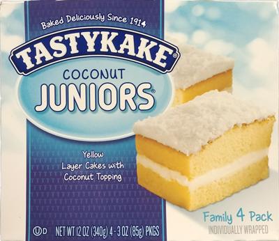 Tastykake Coconut Juniors- 4 pack