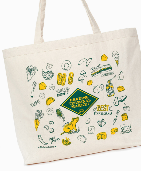 Reading Terminal Market Tote Bag