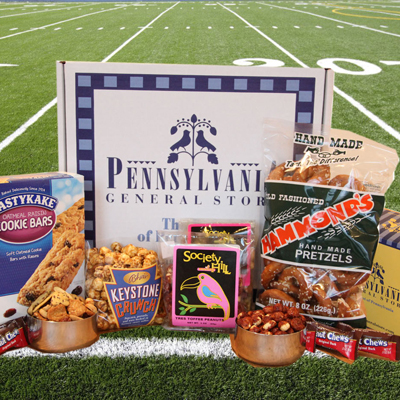 Virtual Tailgate Snack Box with Peanut Chews