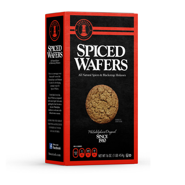 Sweetzels Spiced Wafers, 16 oz.