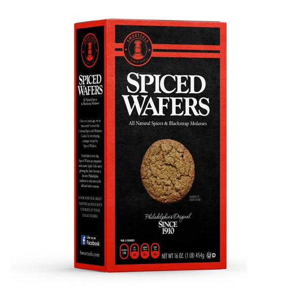 Sweetzels Spiced Wafers, 16 oz