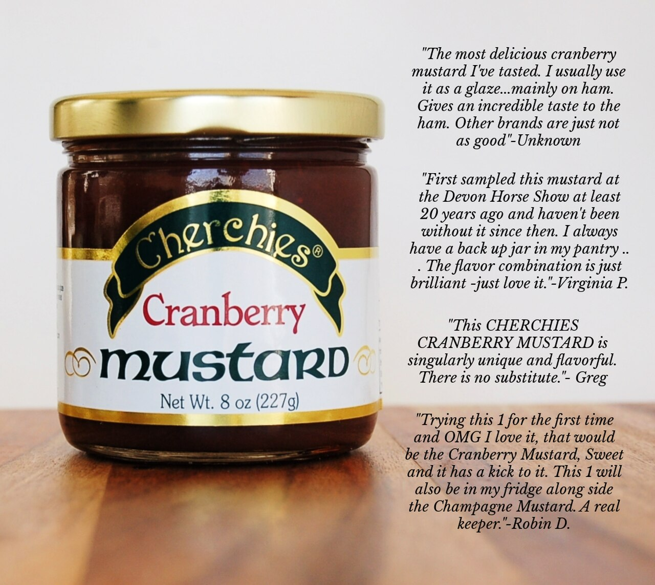 Cherchies Cranberry Mustard