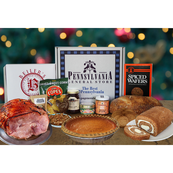 Holiday Essentials Gift Box with Ham & Pie
