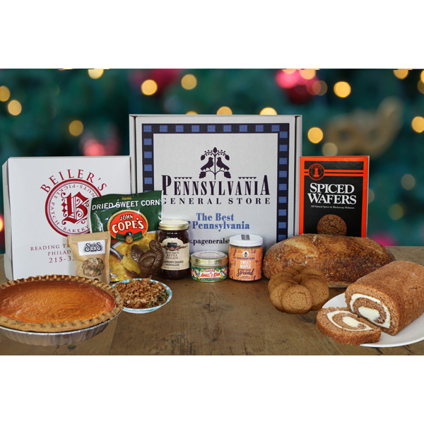 Holiday Essentials Gift Box with Pumpkin Pie