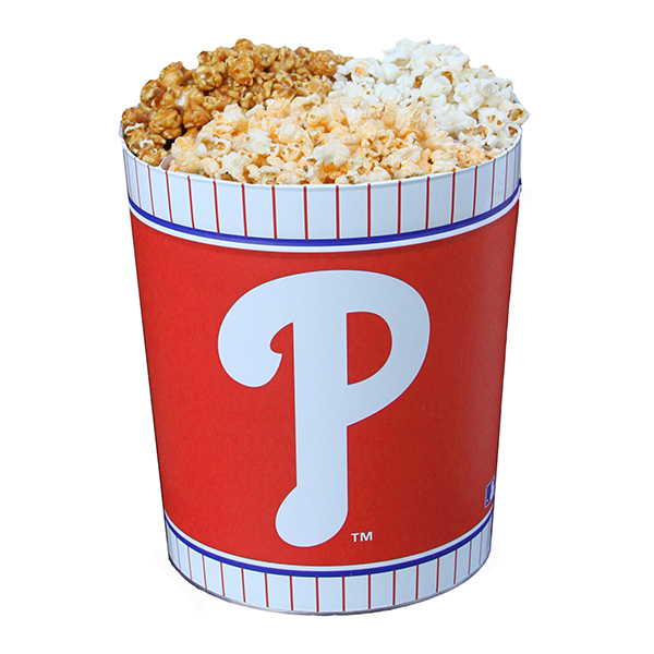 Phillies Popcorn Tin