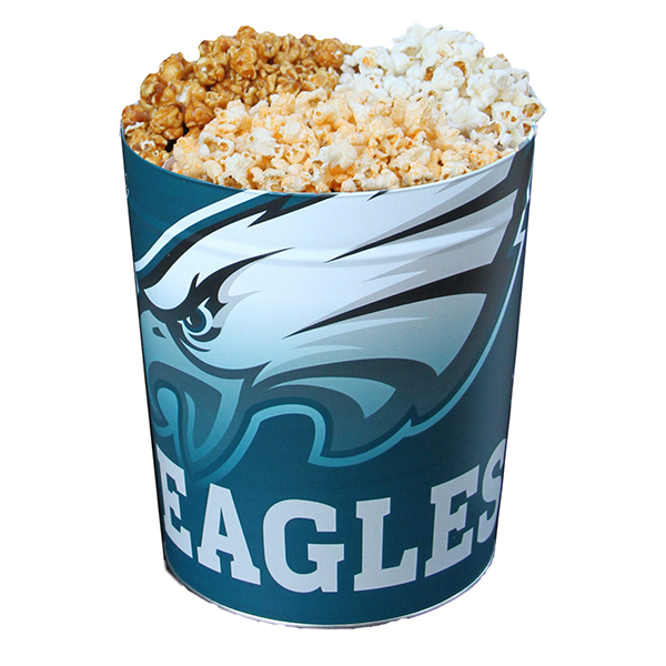 Eagles Popcorn Tin