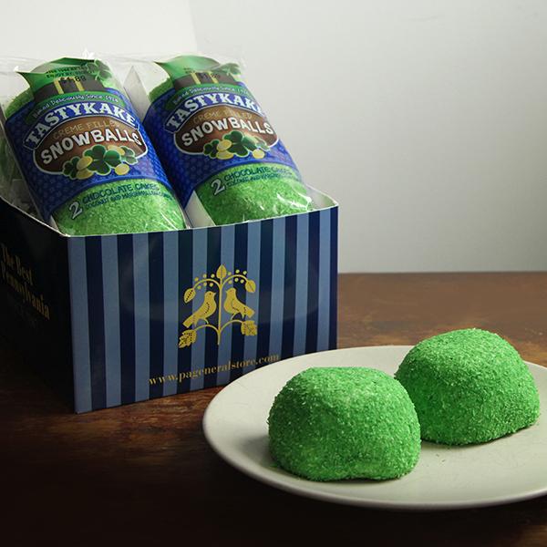 St Patrick Day Snowballs Gift Box